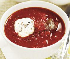 Rysk rödbetssoppa | Recept ICA.se Chili, Picnic, Food, Europe, Chile, Essen, Picnics, Meals, Chilis
