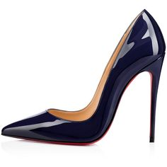 Christian Louboutin So Kate ($675) ❤ liked on Polyvore featuring shoes, pumps, pointed toe stilettos, high heel shoes, stiletto high heel shoes, christian louboutin shoes and high heeled footwear