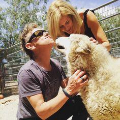 Martin and Kerrilee Gore, May 2015 - Source animal_tracks_inc via Instagram