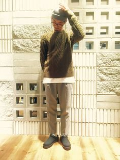 RAGEBLUE京都寺町店 | 中尾 智洋さんのTシャツ/カットソー「RAGEBLUE TRPUドロップ長袖/570224」を使ったコーディネート