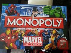 Marvel Monopoly Board Game