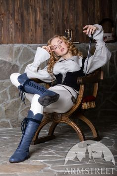 """Medieval Fantasy Boots For Women """"Forest"""" Sitting Pose Reference, Action Pose Reference, Human Poses Reference, Pose Reference Photo, Figure Drawing Reference, Action Poses, Anatomy Reference, Reference Images, Poses Dynamiques"""