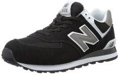 New Balance Men's ML574 Classic Sneaker,Black/White,10 2E US - http://buyonlinemakeup.com/new-balance/10-2e-us-new-balance-mens-574-classics-running-shoe-3