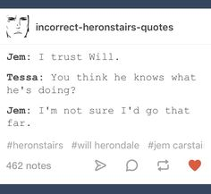 Jem's and Will's friendship is so adorable and unique xD