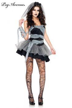 Vous l'aimez? Cliquez sur l'image pour voir plus de photos et l'essayer!!  Costume Mariée mort-vivante