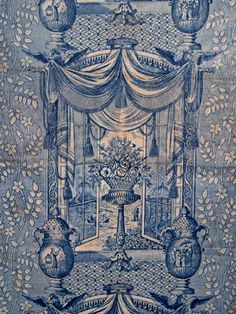 Chinoiserie Toile Remnant, 1820 Session 1 - Lot 133 - $140