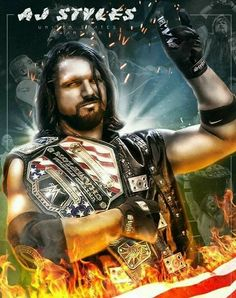 AJ Style US Champion