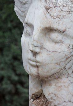 Contemplative Head - Emily Young, Bowman Sculpture Ltd
