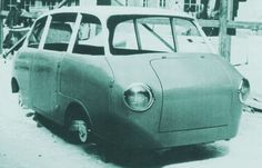 OG | 1956-57 Volkswagen / VW Porsche Type 700 | One-box family car project as the Fiat Multipla