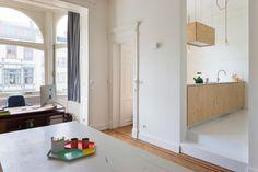 renovatie art deco appartement te Brussel - 2013