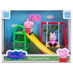 175a4f110b5 Peppa Pig Peppa   Suzy Playground Fun Peppa Pig Playground