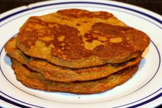 Paleo pumpkin pancakes!!! I made these today and they were DUHLICIOUS.