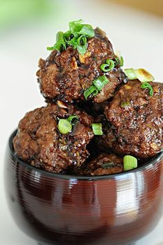 These delicious Saucy Asian Meatballs are simple but impressive!