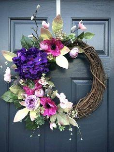 'Spring Wreath for the front door'