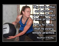 #Soccer #Quotes - #HeatherOReilly Wall Art Quotes, Quote Wall, Soccer Poster, Soccer Boots, O Reilly, Work Ethic, Sport Quotes, Photo Quotes, Good News