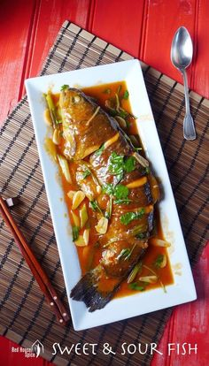 Chinese sweet and sour fish ready in 20 minutes. No deep-frying needed. Visually appealing and balanced in flavour. Ideal for the busy diner. Also a great choice for special occasions. A must for Chinese New Year.