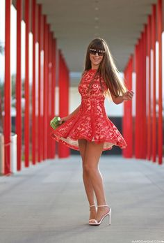 Lace dress!!                                                                                                                                                     More