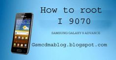 how to root samsung galaxy s advance i9070