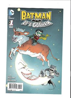 BATMAN LI'L GOTHAM #! Great variant by Chris Burnham!! NM http://r.ebay.com/KMuisV
