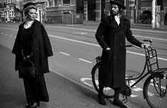Hasidic Judaism-Inspired Editorials - The Harpers Bazaar 'Black Code' Photoshoot Stars Isabel Guyt (GALLERY)