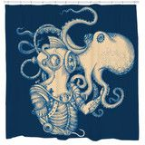 Deep Sea Discovery Shower Curtain | Sharp Shirter