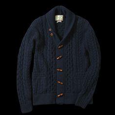 UNIONMADE - Levi's Vintage Clothing - Shawl Collar Cardigan in Navy Melange