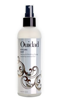 Wonderful hair spray! I use this as a curl setting spray on wet curls when it is very humid outside. I style my hair as usual, spray it on and then blow dry with a diffuser. Ouidad Styling Mist Spray for Setting Curls and Holding Curly Hair #OuidadCurls