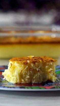 Aprenda a preparar uma receita diferente, simples e super cremosa de cocada de forno!