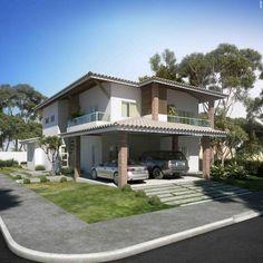 Casa particular no condomínio Meridiem Praia Mar, localizado em Estância/SE - Immobile Arquitetura