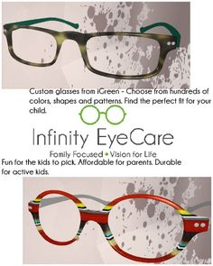 customized igreen frames your child can get them in any size shape and color they