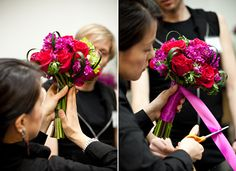 DIY flower arrangements - great step by step