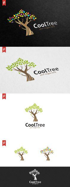 Cool Tree Logo. Logo Templates. $29.00                                                                                                                                                                                 More
