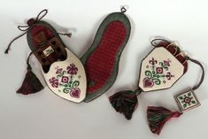 Christmas Sewing Set From Giulia Punti Antichi - Cross Stitch Charts - Embroidery - Casa Cenina