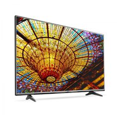 """Upgrade your TV with a 55"""" 4K UHD Smart LED TV. Watch 4K movies and TV shows at 4x the resolution of Full HD, and upscale your current HD content to gorgeous, Ultra HD-level picture quality. This Smart TV delivers a huge world of entertainment;  stream movies, videos, music and more, and use the included Web browser to surf your favorite websites! Available in stores only."""