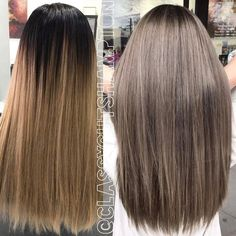 Hey guys here we have our lovely client Caroline! It has been since she was last in and her hair has grown out beautifully! Ash Brown Hair With Highlights, Brown Blonde Hair, Light Brown Hair, Brown Hair Colors, Brunette Hair, Hair Highlights, Medium Ash Brown Hair, Grey Blonde, Ashy Hair