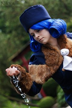 #Cosplay Fairy Tail Juvia