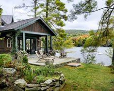 Mountain cabin at cedar cliff lake | Houzz.com