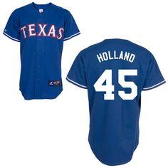 Texas Rangers Replica Personalized Alternate 2 Jersey - MLB.com Shop