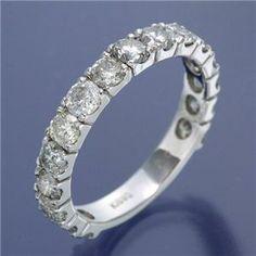 K18ダイヤモンド2ctエタニティリング 21号 Engagement Rings, Diamond, Bracelets, Jewelry, Enagement Rings, Wedding Rings, Jewlery, Bijoux, Commitment Rings