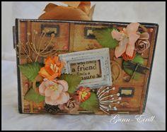 Gunn-Eirill`s Paper Magic: Mini album/ DT Wild Orchid Craft