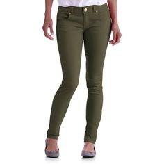 Colored Skinny Jeans for Juniors | out of stock