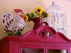 (Red) French Country Cottage Decor