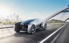 Descargar fondos de pantalla Jaguar Futuro Concepto de Tipo De 2017, Británico de coches, los coches del futuro, el diseño futurista