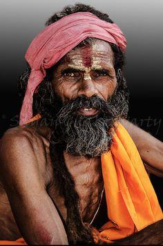 A Baba in Puri India by Sayan Chakravarty