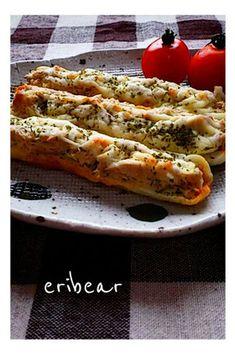 簡単!節約!ちくわのツナ&チーズ焼き☆