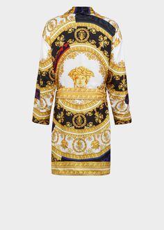 7ccb09d9af Silk I ♡ Baroque Bathrobe - Versace Home Bathrobes Versace Bathrobe