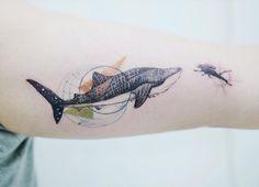 Whale shark encounter by Tattooist Banul