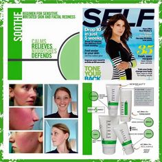 Do you see red? Is your skin irritated or sensitive? We've got something to help! Our Soothe regimen (As seen in #Self #Essence #TownAndCountry and #NewBeauty) is clinically proven to reduce redness and irritation in as little as 5 minutes. Soothe helps fortify skin's natural moisture barrier, calms visible redness, and reduces irritation so that you can take comfort in having a healthy-looking complexion every day.  Our 4 step regimen includes a gentle wash, a treatment, a soothing…