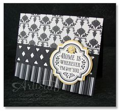 Forever with You ~ Lattice with the Chevron Punch ~ Connie Collins