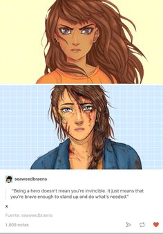This is why I love Percy Jackson ! Rick creates beautiful people like piper and even though she is the daughter of Aphrodite she is still as beautiful and brave as annabeth .